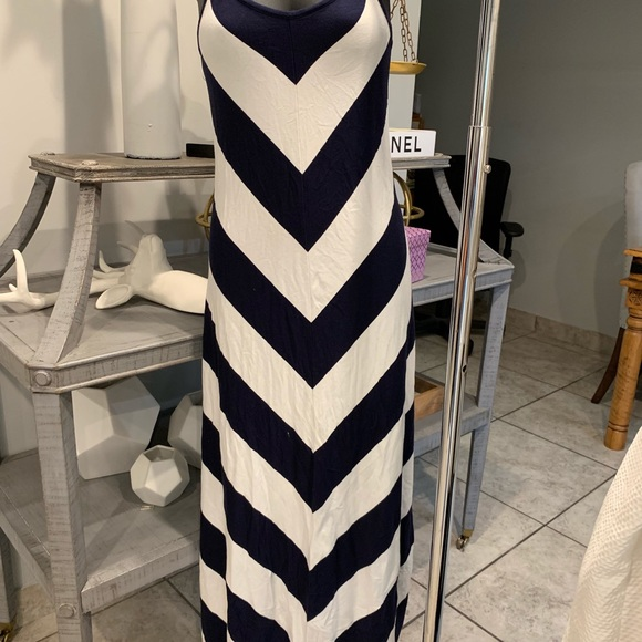 GAP Dresses & Skirts - 2 striped dress blue and yellow